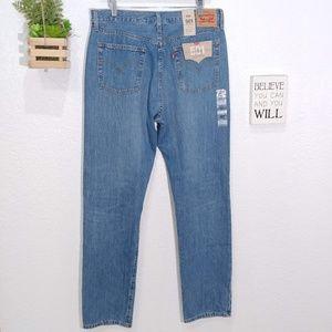 Levi's Jeans - Levis 501 original Hi Rise straight leg button fly